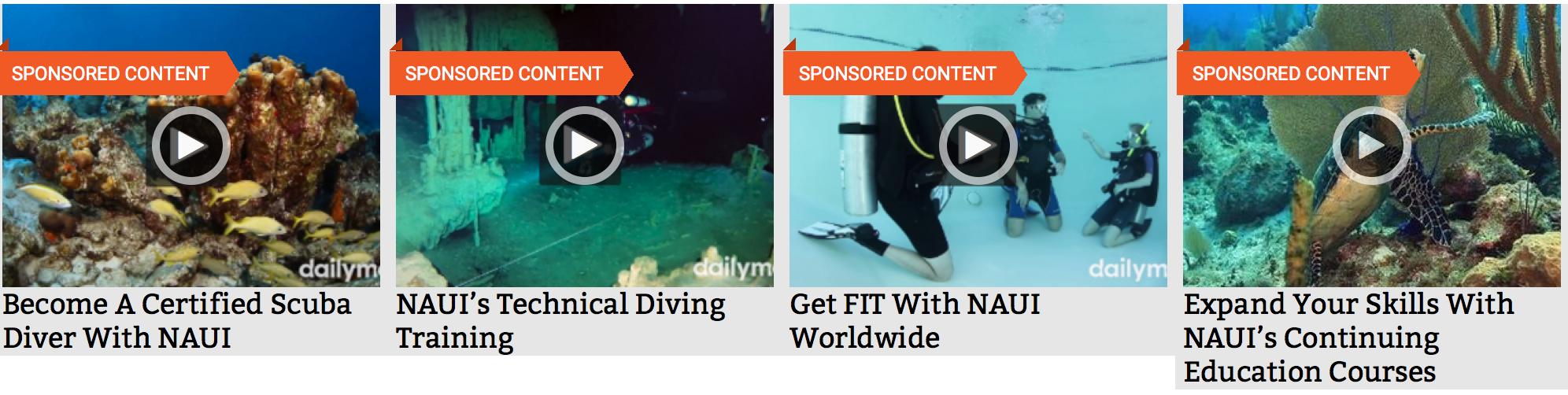 Naui Releases Worldwide Campaign Naui Worldwide Dive Safety