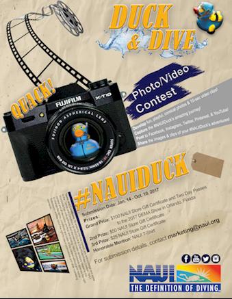 NAUI Duck & Dive Photo/Video Contest   NAUI Worldwide. Dive Safety ...