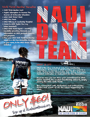 Dive Team | NAUI Worldwide. Dive Safety Through Education