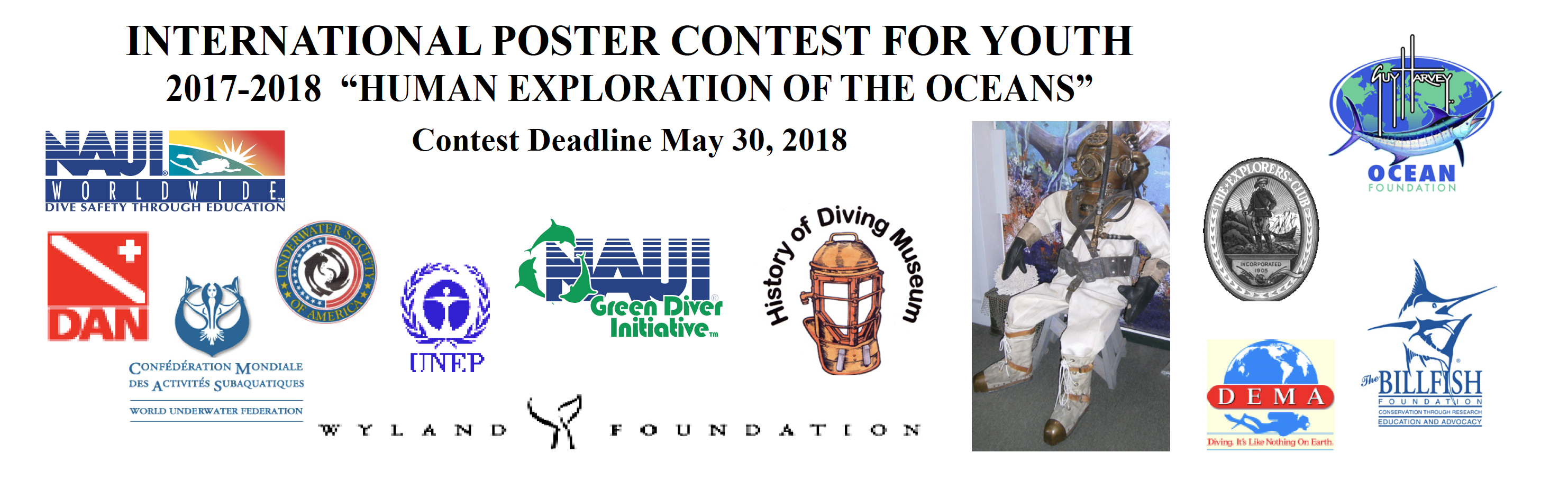 International Poster Contest For Youth Naui Worldwide Dive Safety